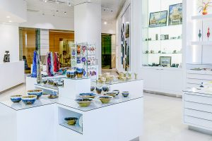 A gift shop in the Legislative Assembly visitor centre, which has various local and handmade products.