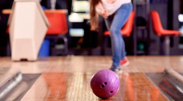 Bowling at The Rec Room.