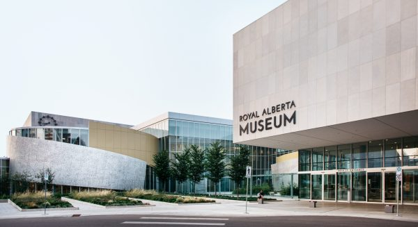 Outside view of the Royal Alberta Museum