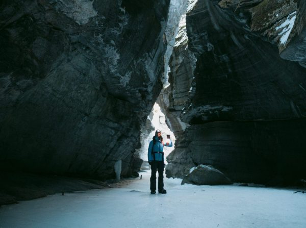 Maligne Canyon ice walk.