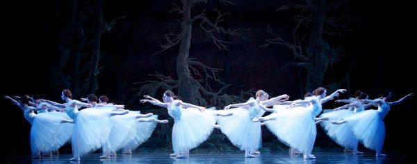 Alberta Ballet performs onstage.