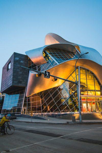 Downtown S Iconic Architecture Explore Edmonton