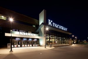 Exterior of Kingsway Mall, a shopping mall in Edmonton.